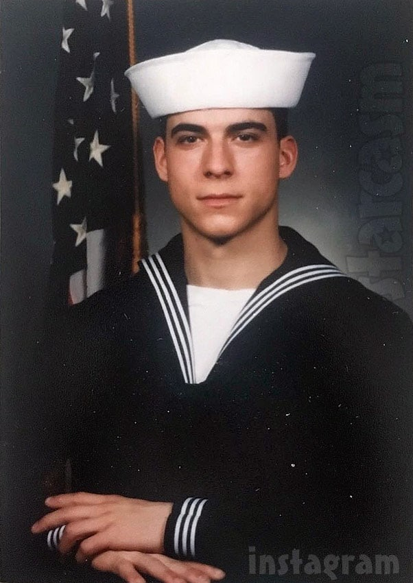 Photo of Pump Rules Jax Taylor in the Navy