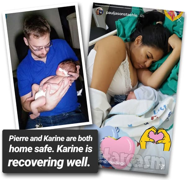 90 Day Fiance Before the 90 Days Karine and Paul Staehle's baby Pierre is healthy and has left the hospital