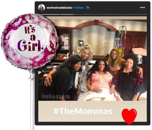 Porsha Williams gives birth to baby girl PJ