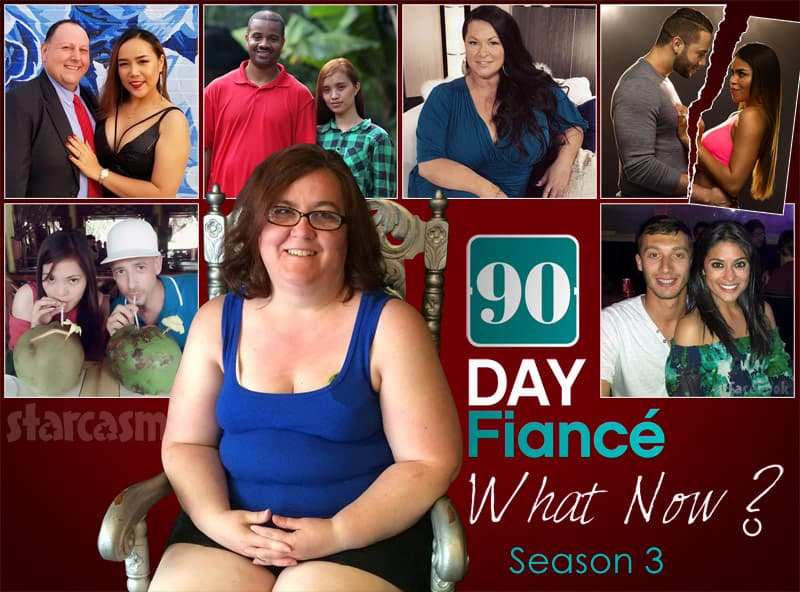 90 Day Fiance What Now? Season 3 cast Annie David Tarik Hazel Molly Jonathan Fernanda Larry Jenny Danielle Loren Alexei