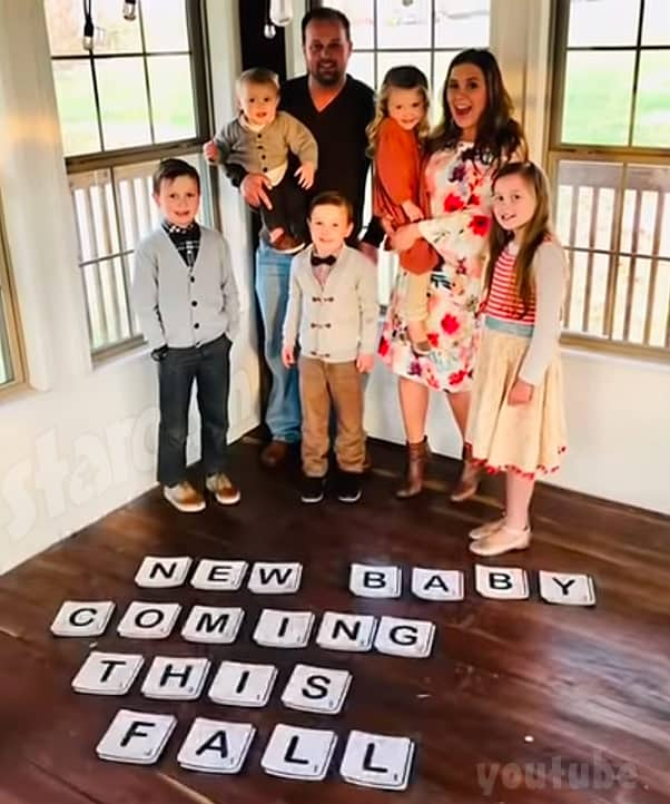 Josh Duggar and Anna Duggar pregnant with sixth child