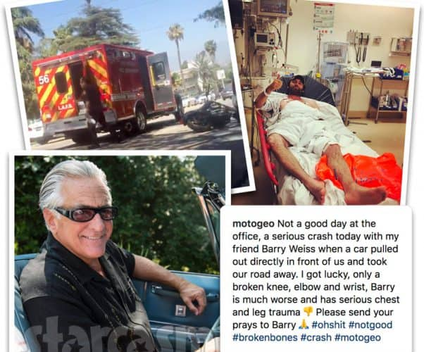 Storage Wars Barry Weiss motorcycle accident
