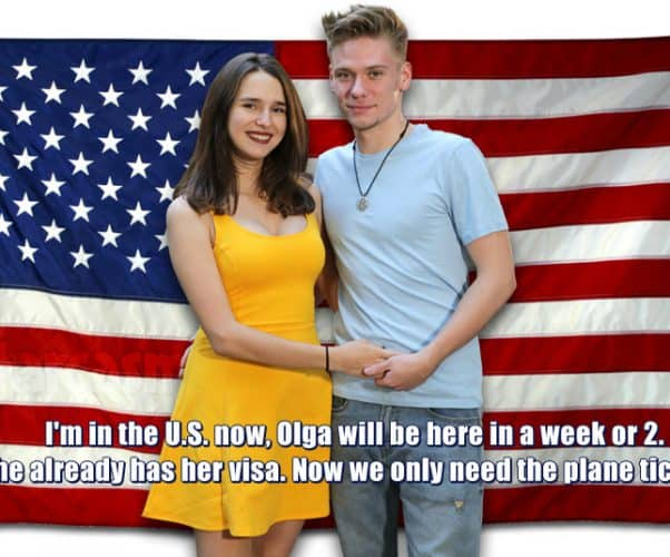 90 Day FIance Before the 90 Days Steven and Olga update - her K-1 visa approved, will be in the United States soon