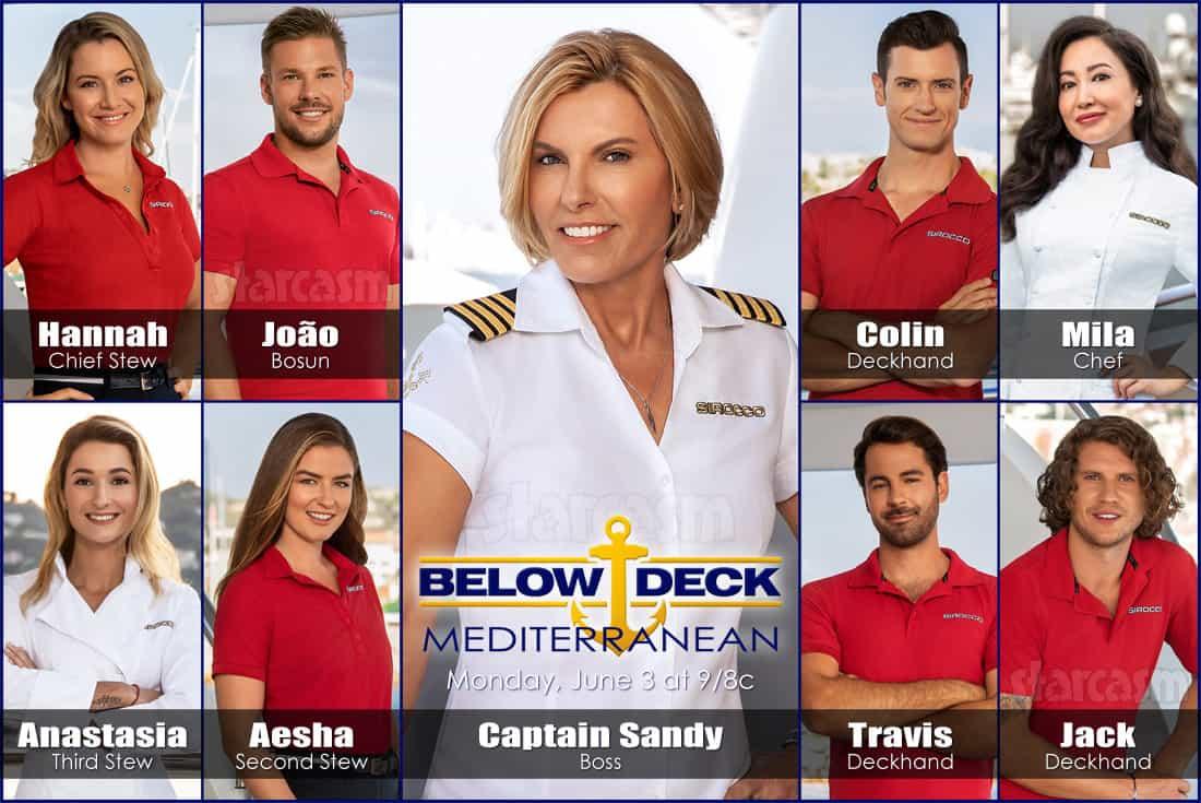 Below Deck Med Season 4 preview trailer, cast names, bios