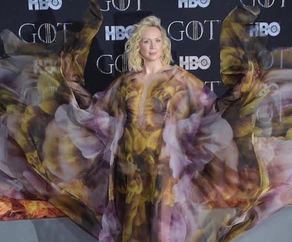 Brienne of Tarth in a dress 3