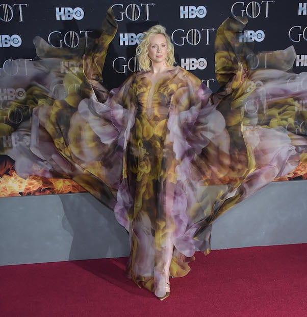 Brienne of Tarth in a dress 4