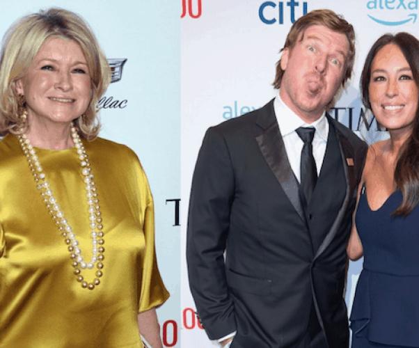 Chip and Joanna and Martha Stewart 1