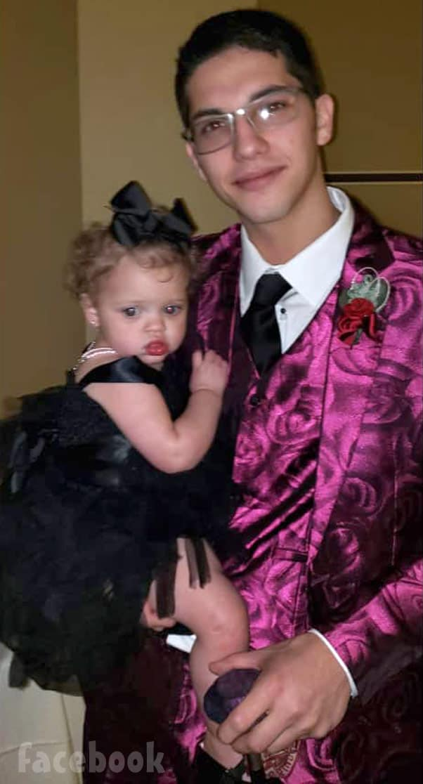 TLC Unexpected Diego Reyes with daughter daughter Aria Beckett at prom 2019
