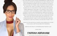 Farrah Abraham Master Class