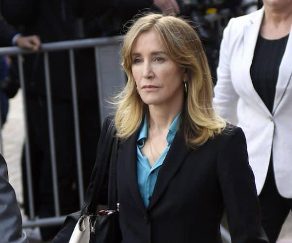 Felicity Huffman's guilty plea 1