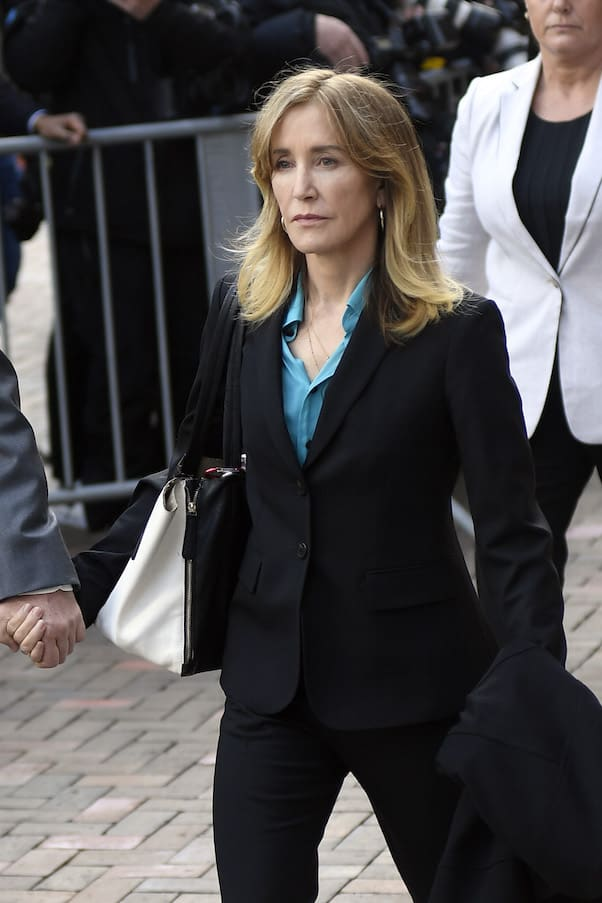 Felicity Huffman's guilty plea 2