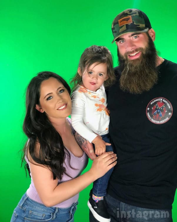 Teen Mom 2 Jenelle Eason David Eason daughter Ensley redneck nation shirt with a Confederate flag