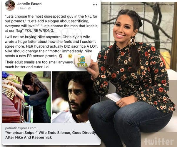 Jenelle Eason and Teen Mom 2 Reunion co-host Nessa clash over Colin Kaepernick