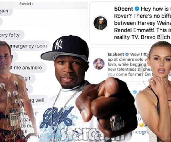 Lala Kent 50 Cent Randall Emmett feud recap