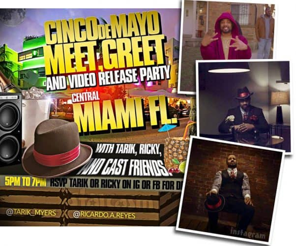 Before the 90 Days Tarik Myers Ricky Reyes music_video release party in Miami