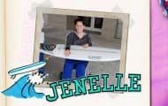 Teen Mom 2 scrapbook Jenelle Eason surfboard