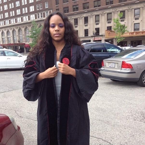 Young Joc fiancée law school graduation