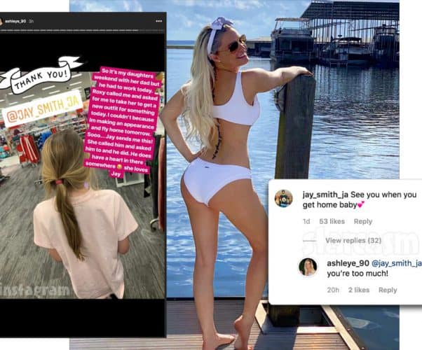 90 Day Fiance Ashley bikini photo. Is she back with Jay?