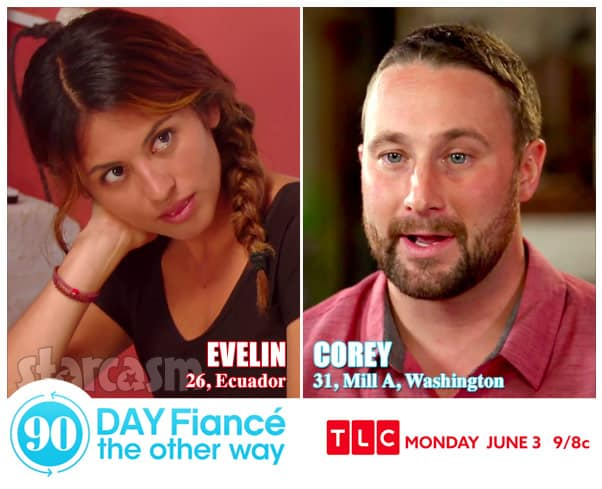 90 Day Fiance The Other Way Corey and Evelin from Ecuador