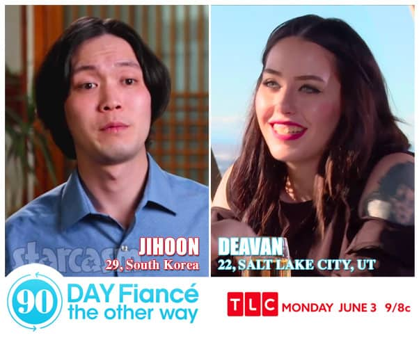 90 Day Fiance The Other Way Deavan and Jihoon from South Korea
