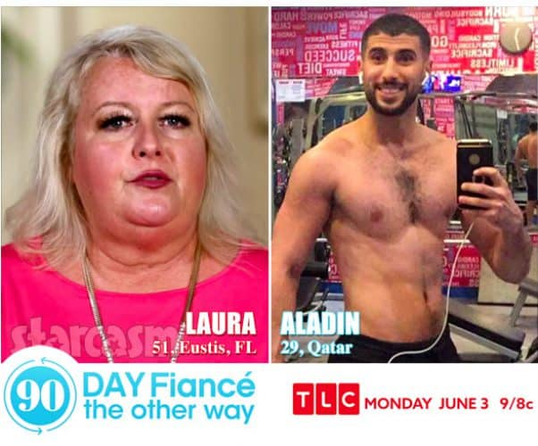 90 Day Fiance The Other Way Laura and Aladin from Qatar