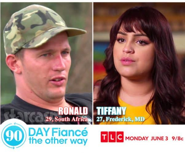 90 Day Fiance The Other Way Tiffany and Ronald from South Africa