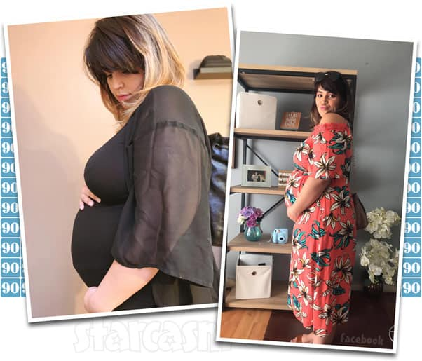 90 Day Fiance The Other Way Tiffany is pregnant photos