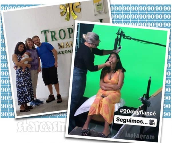 Before The 90 Days Paul and Karine update: Still filming with TLC, probably for The Other Way. Paul's mom flies to Brazil!