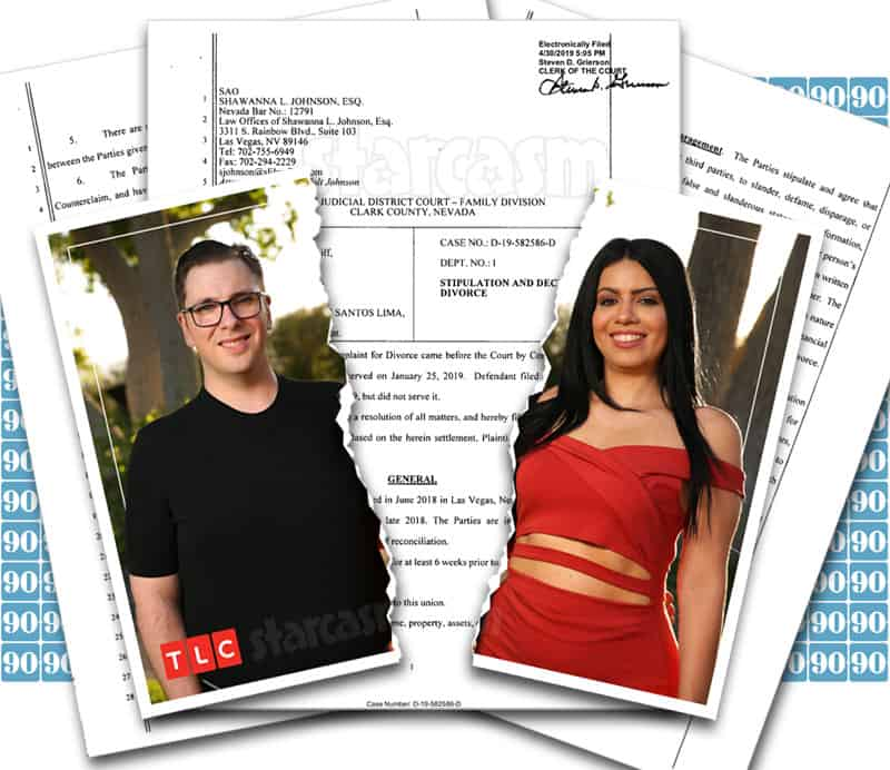 90 Day Fiance Happily Ever After Colt and Larissa divorce finalized - see the documents