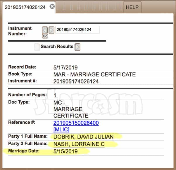 Did David Dobrik actually marry Jason Nash's mom Lorraine? See proof!