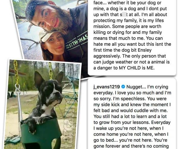 Teen Mom 2 David Eason admits he shot Jenelle Evans' dog Nugget to protect their family
