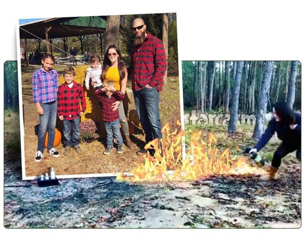 Teen Mom 2 Jenelle Eason burns Kail's Pothead Haircare gift and an Eason family photo