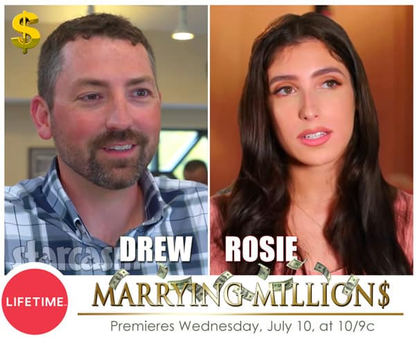 Lifetime Marrying Millions Drew and Rosie