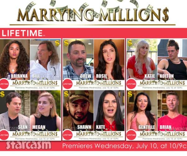 Marrying Millions Season 1 cast