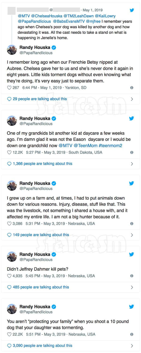 Randy Houska responds to David Eason shooting Jenelle's French bulldog Nugget