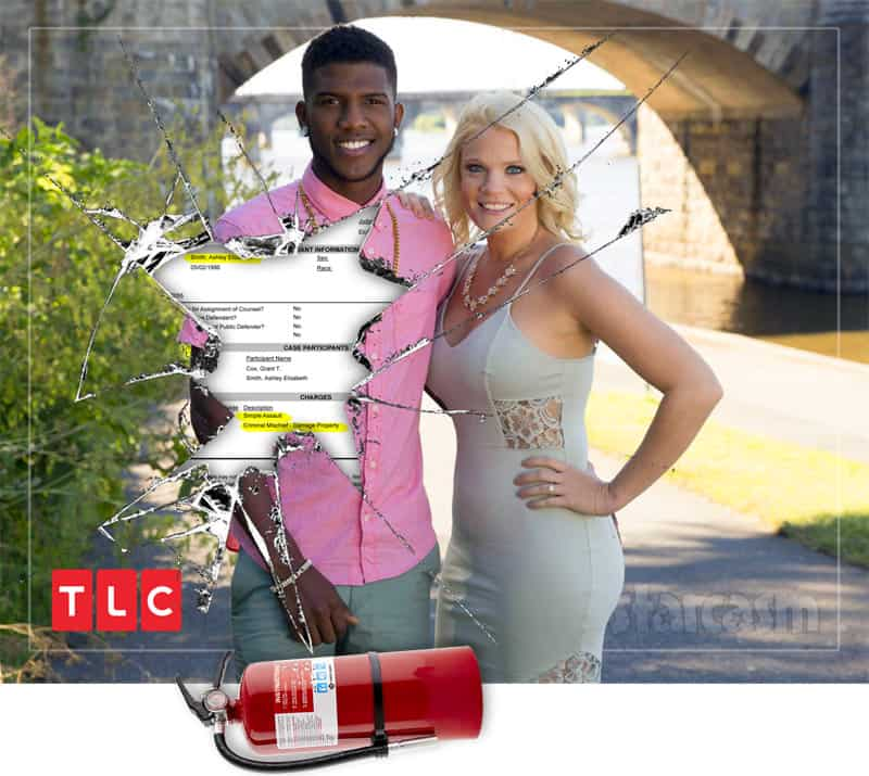 90 Day Fiance Happily Ever After Ashley arrested after Jay altercation? Threw a fire extinguisher through his window!