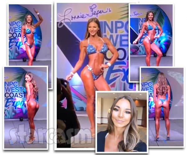 90 Day Fiance Anfisa NPC bikini competition photos