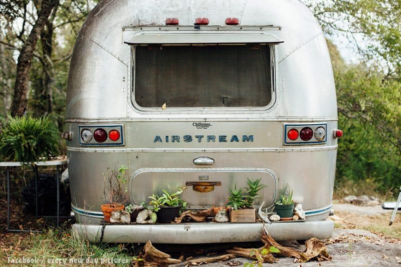 Abandoned Airstream photo