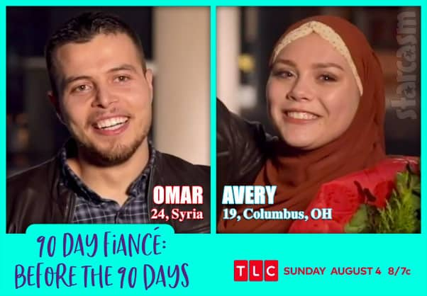 Before the 90 Days Season 3 Avery from Colombus Ohio and and Omar from Syria