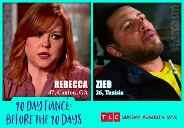 Before the 90 Days Season 3 Rebecca from Canton, GA and and Zied from Tunisia