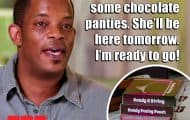 Before the 90 Days chocolate panties