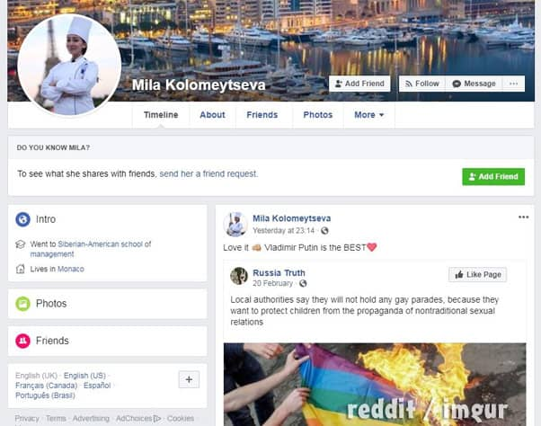 Below Deck Med Chef Mila homophobic Facebook post