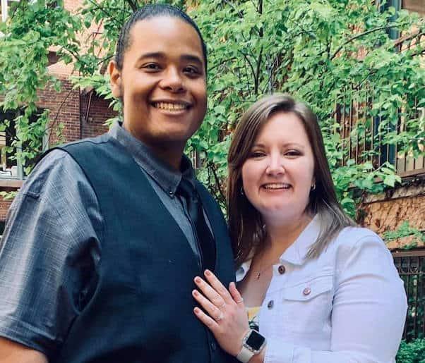 Brandon Scott engaged 1