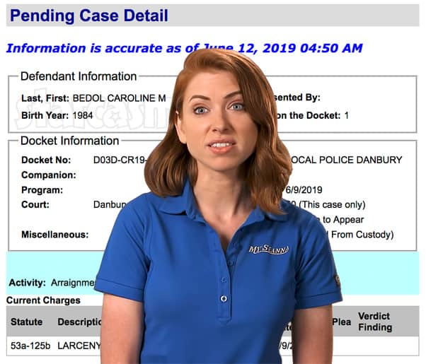 Below Deck Caroline Bedol arrested for larceny