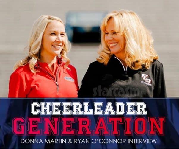Cheerleader Generation coaches Ryan O'Connor Donna Martin interview