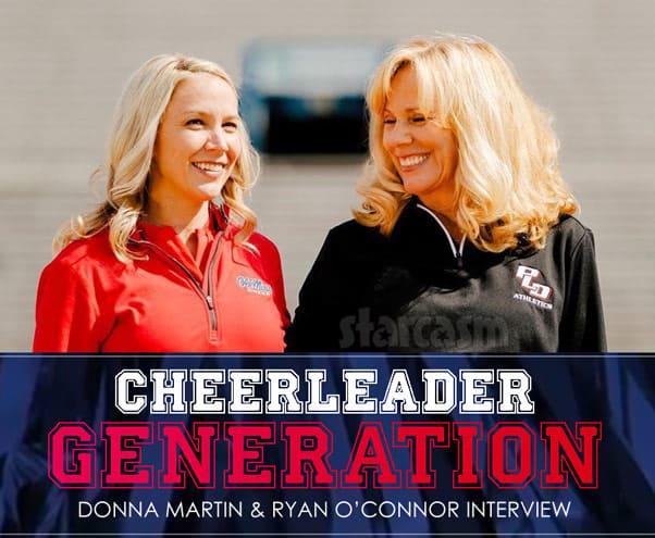 Lifetime Cheerleader Generation coaches Ryan O'Connor Donna Martin interview