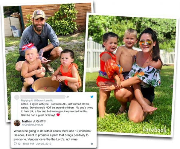 David Eason and Jenelle Evans allowed to attend Kaiser's fifth birthday party