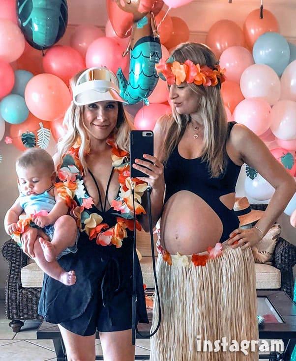 Elizabeth Potthast Castravet's pregnant sister Rebekah 90 Day Fiance Happily Ever After