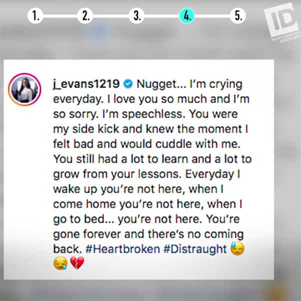 Investigation Discovery David Eason Jenelle Nugget post on Instagram
