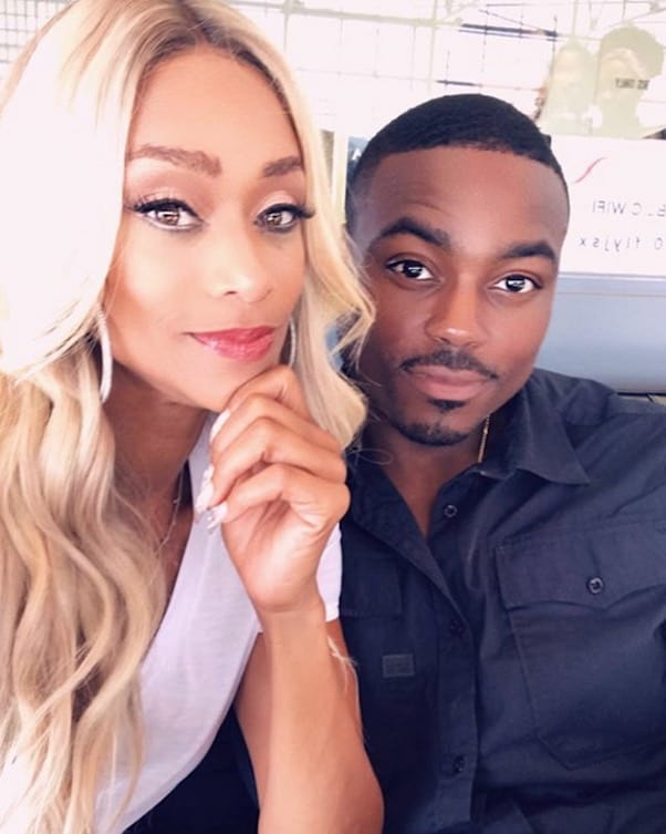 Tami Roman and Reggie Youngblood got married 1